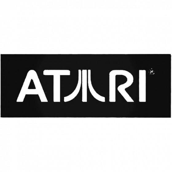Atari Style 2 Vinyl Decal