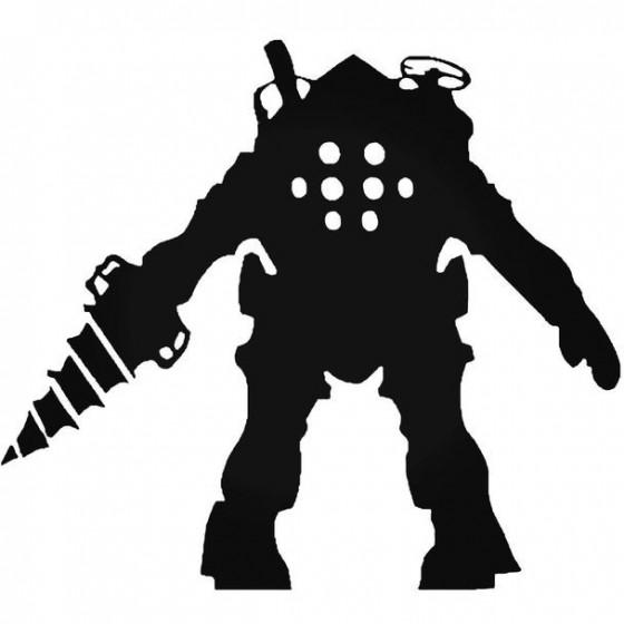 Bioshock Big Daddy 1 Decal...