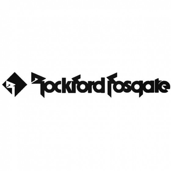 Ford Fosgate Audio 03 Decal...