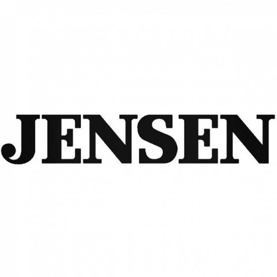 Jensen Audio Vinyl Decal...