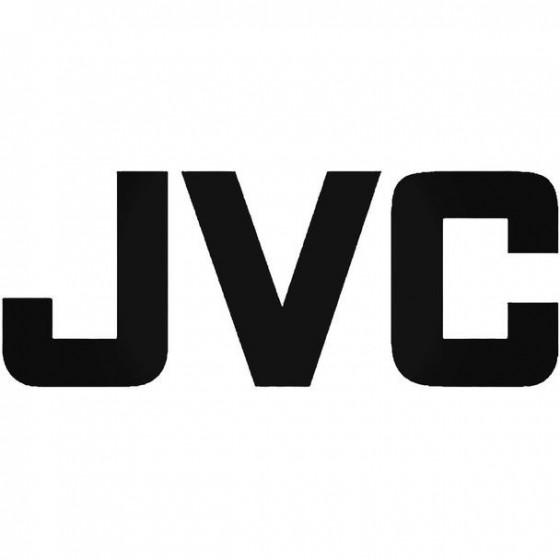Jvc Audio Vinyl Decal Sticker