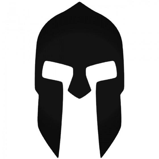 300 Spartan Helmet Vinyl Decal