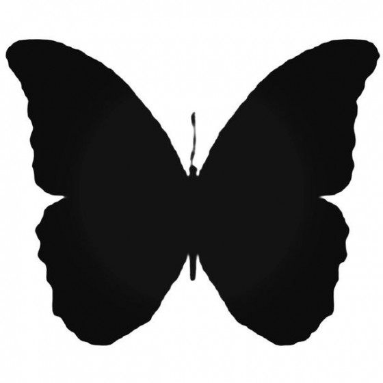Butterfly Decal Sticker 40