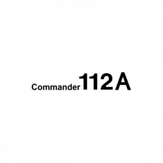 Aero Commander 112a Aviation