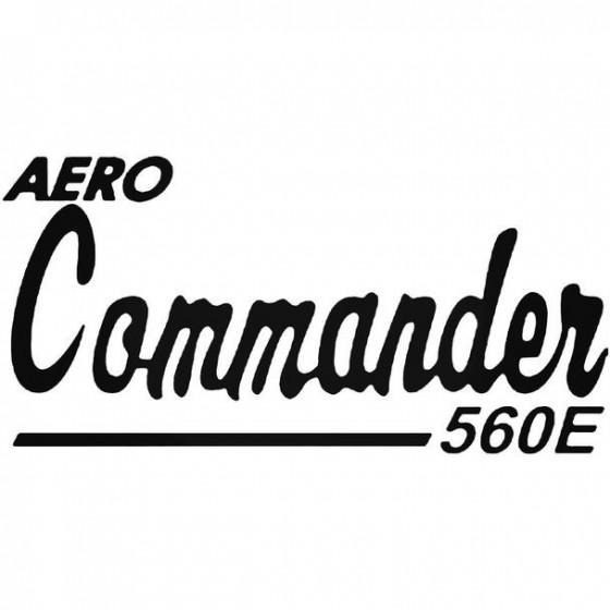 Aero Commander 560e Aviation