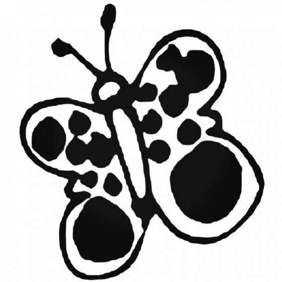 Butterfly Decal Sticker 6