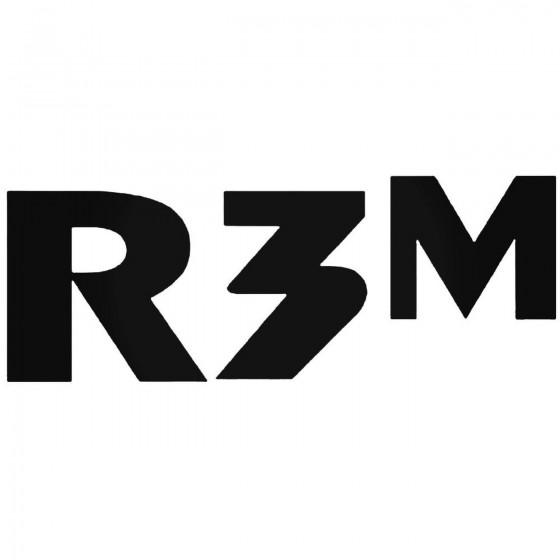 R3M Vinyl Decal Sticker DH
