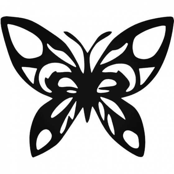 Butterfly Tribal Decal...