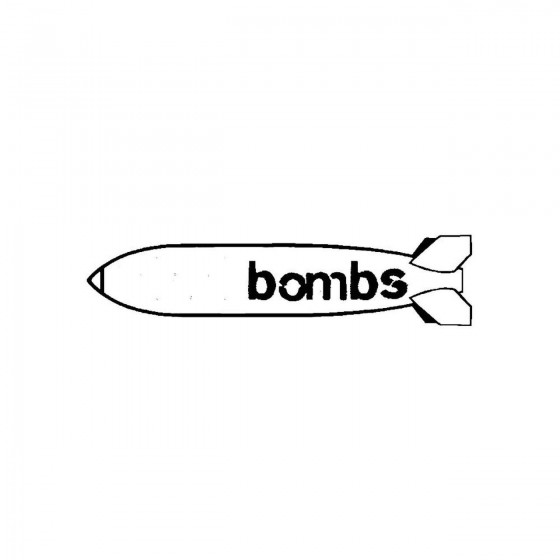 1000 Bombsband Logo Vinyl...
