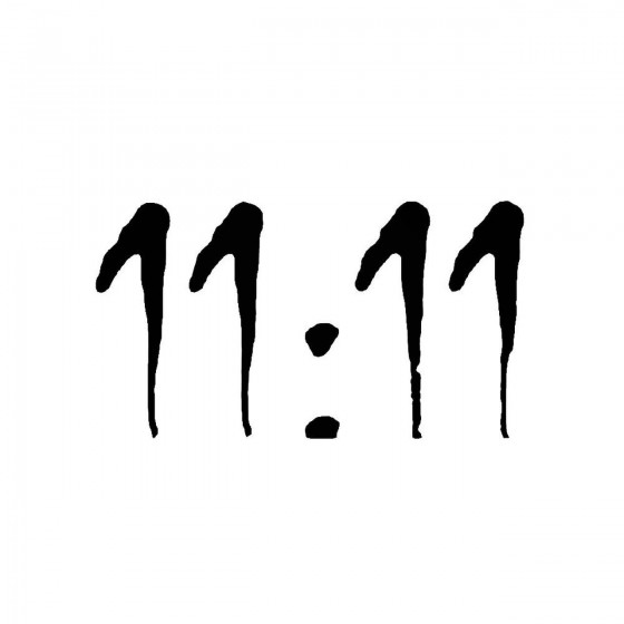 11 11band Logo Vinyl Decal