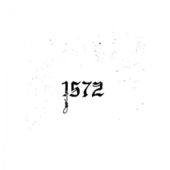 1572band Logo Vinyl Decal