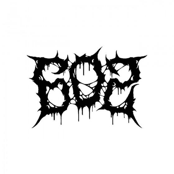 602band Logo Vinyl Decal