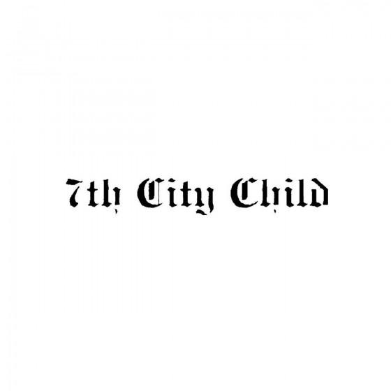 7th City Childband Logo...