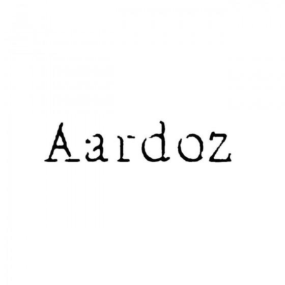 Aardozband Logo Vinyl Decal