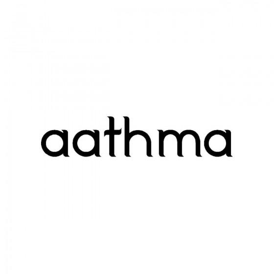 Aathmaband Logo Vinyl Decal