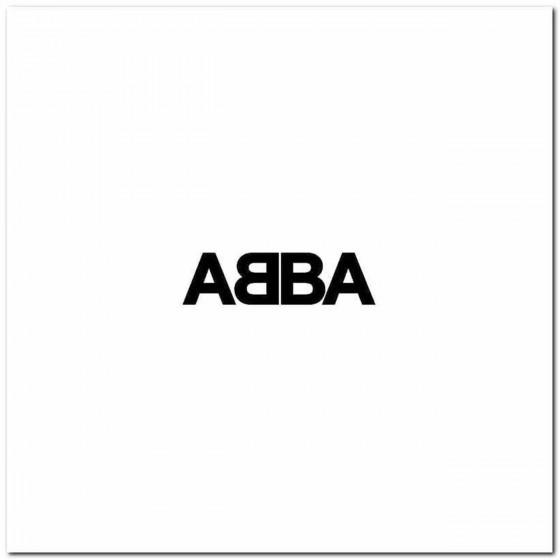 Abba S Band Logo Vinyl Decal
