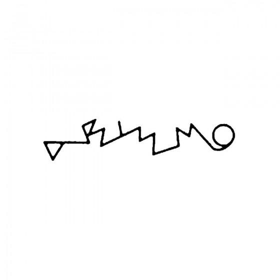 A B I S M Oband Logo Vinyl...