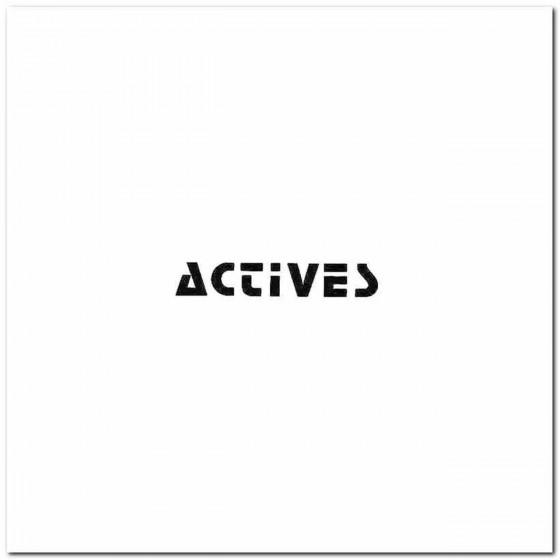 Actives St Band Logo Vinyl...