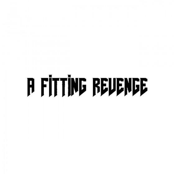 A Fitting Revengeband Logo...