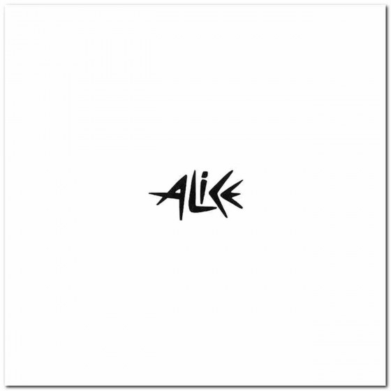 Alice Rock Band Logo Vinyl...