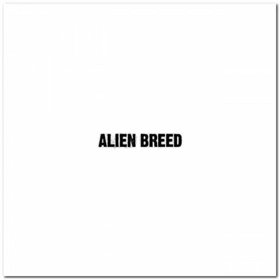 Alien Breed Rock Band Logo...