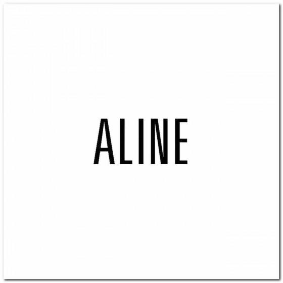 Aline Rock Band Logo Vinyl...