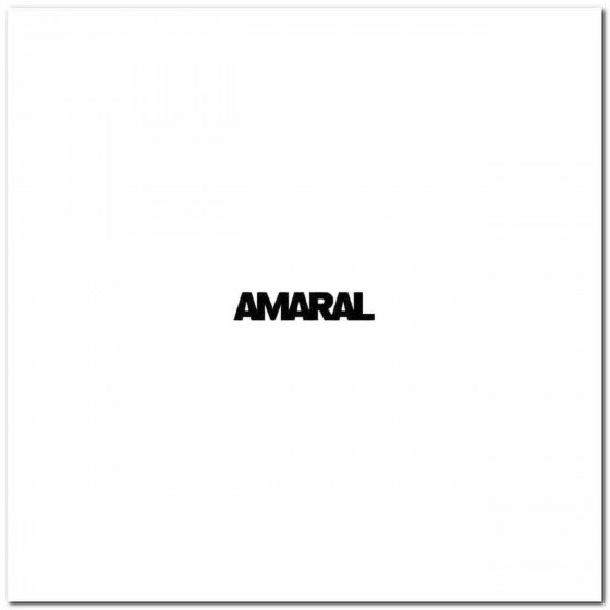 Amaral Rock Band Logo Vinyl...