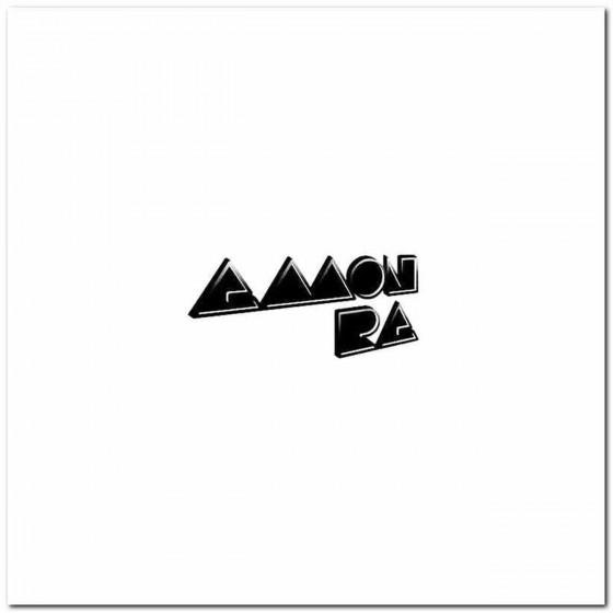 Amon Ra Rock Band Logo...
