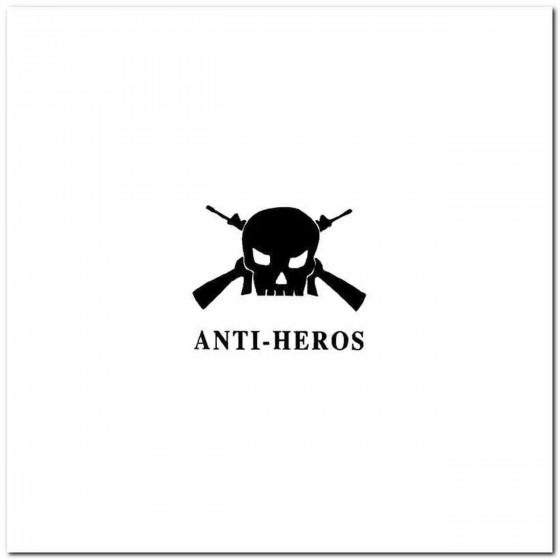 Anti Heros Rock Band Logo...