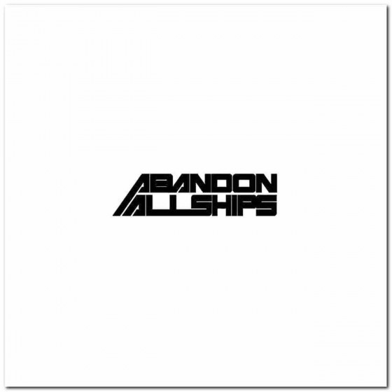 A On All Ships Band Logo...