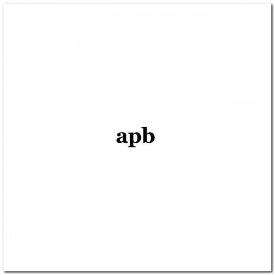 Apb Rock Band Logo Vinyl Decal