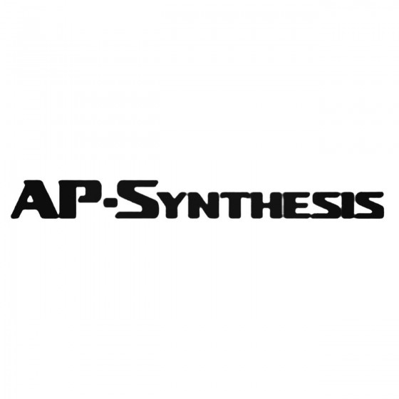 Ap Synthesis Decal Sticker