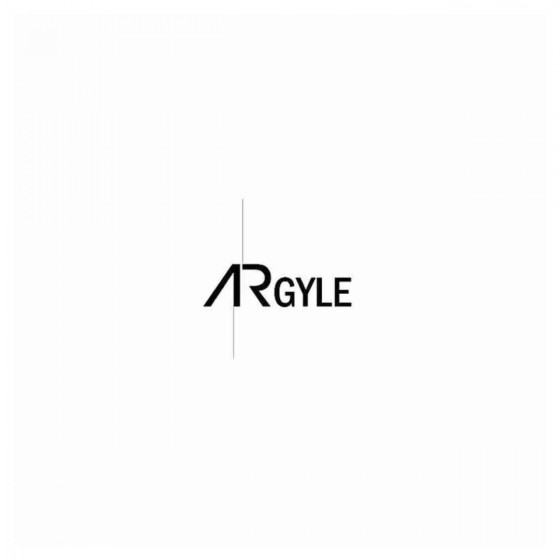 Argyle Band Decal Sticker
