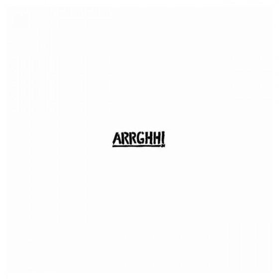 Arrghh Band Decal Sticker