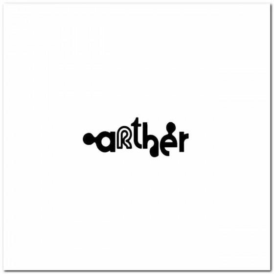 Arther Rock Band Logo Vinyl...