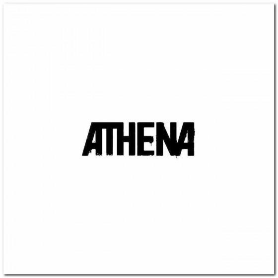 Athena Rock Band Logo Vinyl...