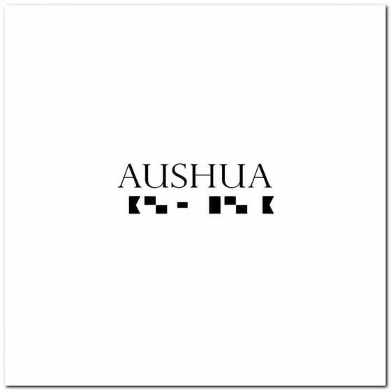 Aushua Rock Band Logo Vinyl...