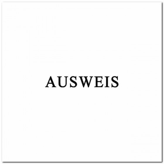 Ausweis Rock Band Logo...