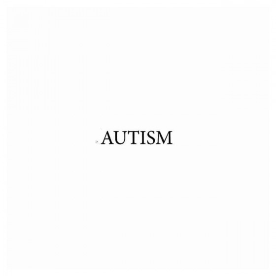Autism Band Decal Sticker