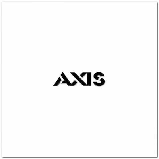 Axis Rock Band Logo Vinyl...