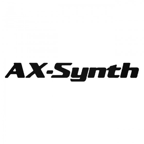 Ax Synth Decal Sticker