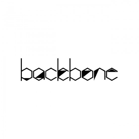 Backbone 3band Logo Vinyl...