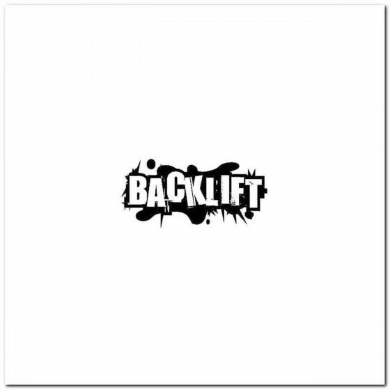 Back Lift Rock Band Logo...