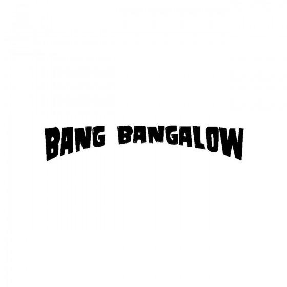 Bang Bangalowband Logo...