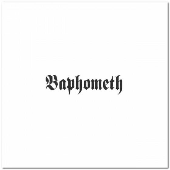 Baphometh Logo Decal Band...