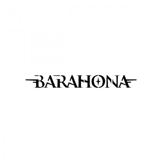 Barahonaband Logo Vinyl Decal