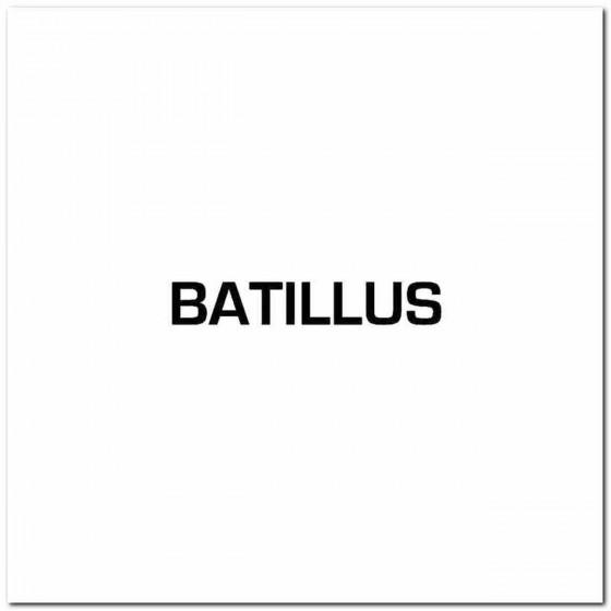 Batillus Logo Decal Band...