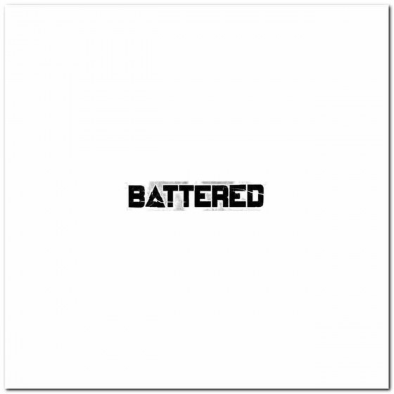 Battered Logo Decal Band...