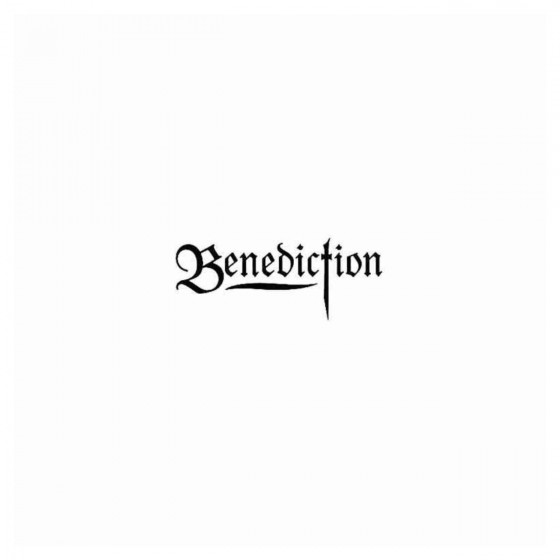 Benediction Band Decal Sticker