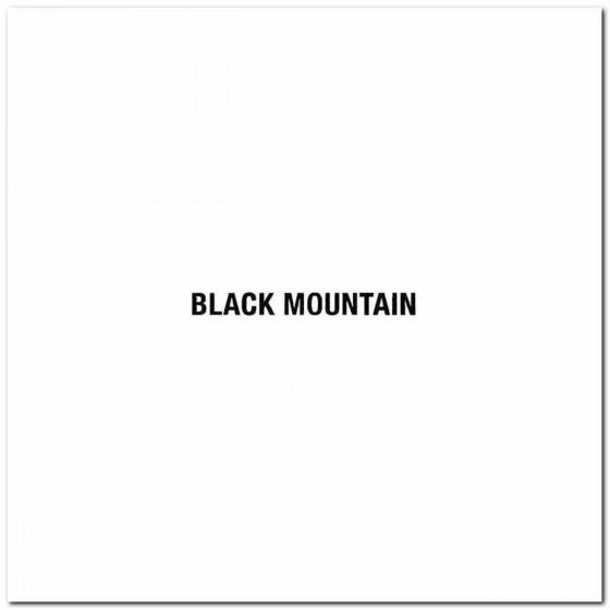 Black Mountain Logo Vinyl...